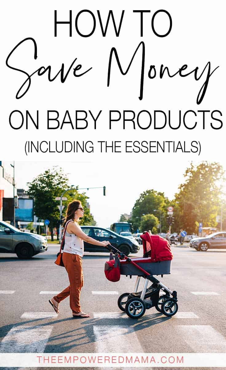 Save money on baby products by following these tips - get all the must have baby items without spending a fortune.