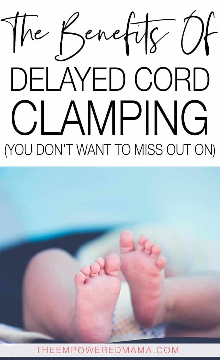 There are so many benefits to delayed cord clamping yet we still have to actively state this is what we want in our birth experience. Here's why you should advocate for delayed cord clamping and make it part of your birth plan.