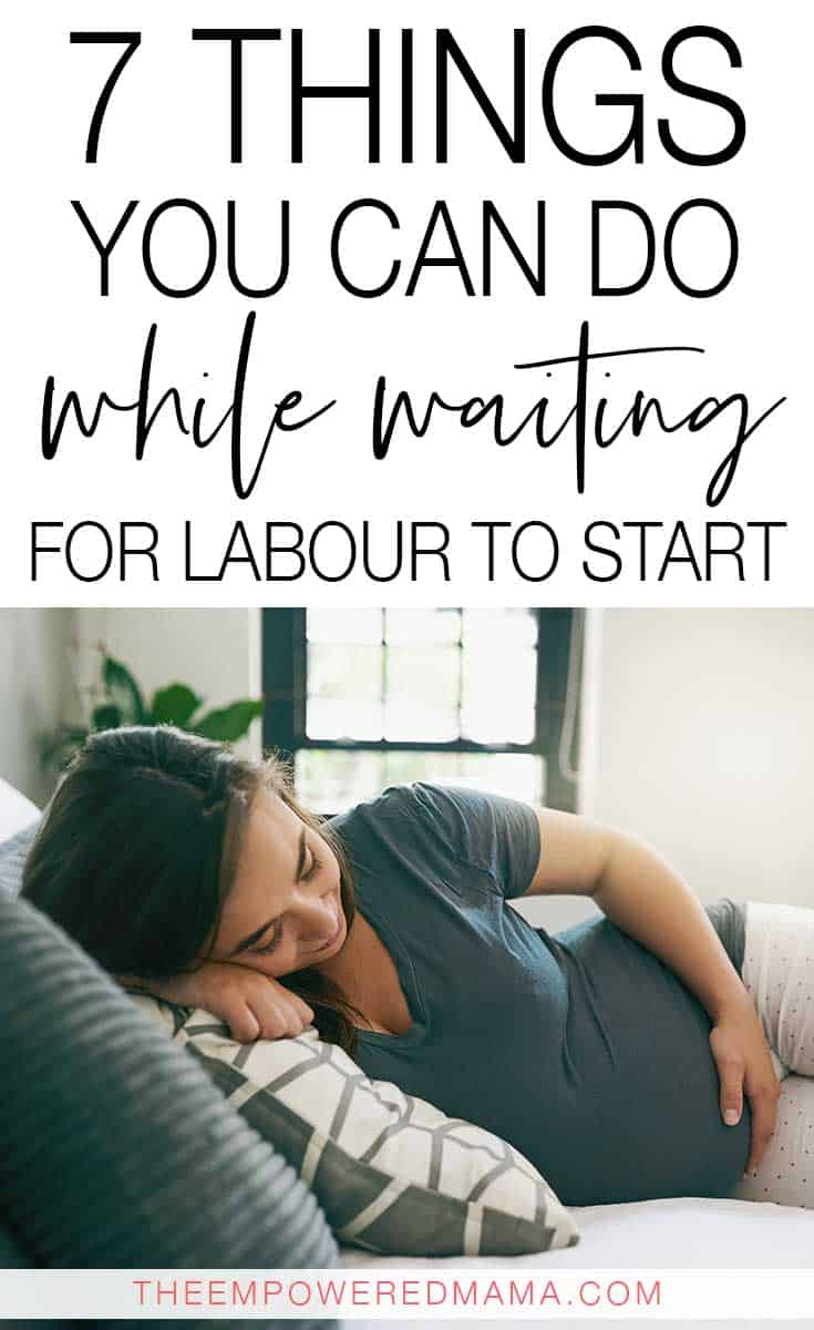 It seems like the third trimester of pregnancy seems to drag on and you can drive yourself crazy waiting for labour to start. Why not do these things instead and enjoy your last few weeks?