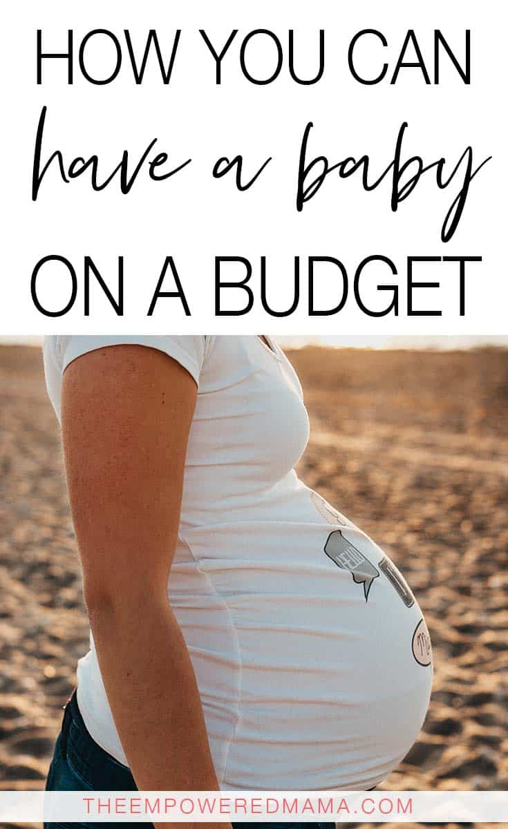 While it's tempting to buy every cute little baby outfit and 'must have' item, it's not necessary, especially when you're trying to have a baby on a budget.