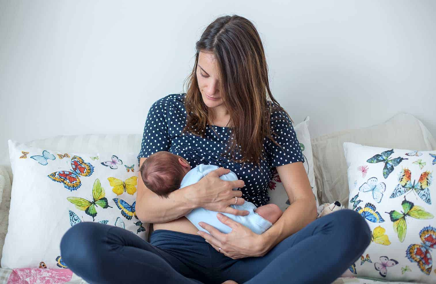One of the biggest challenges with breastfeeding can be when you need to breastfeed in public. It can be awkward, but here's you can do it with confidence and know you can feed your baby whenever and wherever you need.