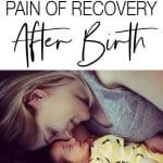 Recovery after birth isn't the same for all women, for some it is difficult, painful, and it can take a while to find answers. Here's my story of recovery.