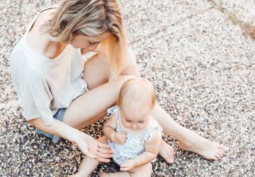 When you're a new mom, the idea of self care seems laughable. But it is so incredibly important. Here are some self care ideas for a new mom that you can do with your baby around.