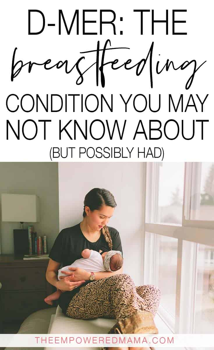 D-MER is often categorised as feeling depressed during let down when breastfeeding your baby, but is completely different to PND, and can manifest in different ways including nausea, pain, tingling and generally feeling sad. This is what we do know about D-MER.