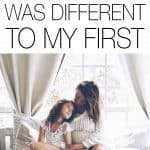 We know all pregnancies are different, but I wasn't prepared for how much my second pregnancy was different to my first. In both good and challenging ways.