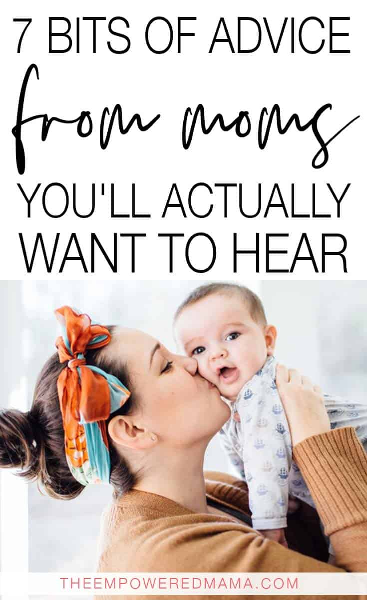 Sick of everyone offering advice to you when you're a new parent? Why not make the most of it and as for advice from moms you actually want the answers to?