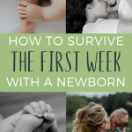 There's no denying the first week with a newborn is tough. These are some things you can do to make that first week easier and less stressful for you and your babe.