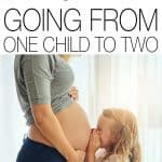 Everyone will tell you that going from one child to two is a big challenge, and I expected it to be hard, but here's what I found with the transition.