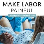 Planning to birth your baby in a hospital? Don't just 'go with the flow' - prepare yourself with these things you need to know about how hospitals can make labour painful, and what you can do to help yourself in labour.