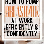 So you're ready to return to work and you want to keep your breastfeeding relationship going. That's awesome! It is absolutely possible and pumping breastmilk at work is easy to do when you have the right set up and the right tools at hand. If you're new to this, or if you just want to learn how you can pump breastmilk at work efficiently and confidently, then we have you covered.