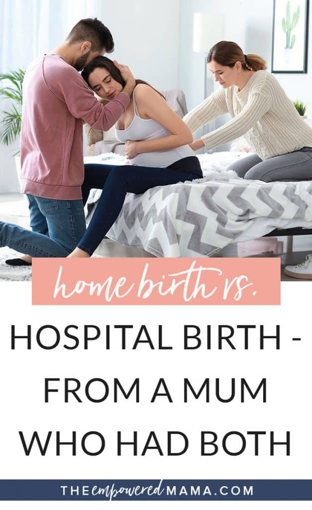 The debate between a having a home birth vs hospital birth is one that runs deep. I'm sharing my experience of having both, becoming educated about birth, and learning the importance of an empowered, educated, informed and supported birthing environment.